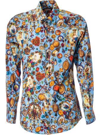 Dolce & Gabbana Jewel Print Shirt