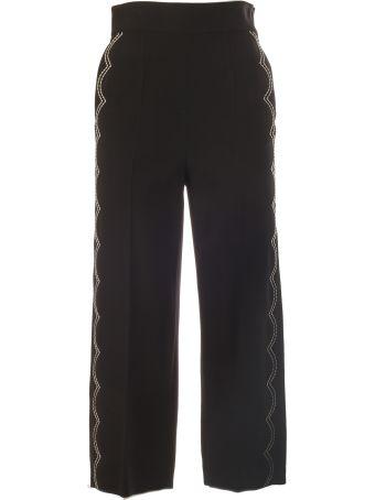 RED Valentino Scallop Stitch Trousers