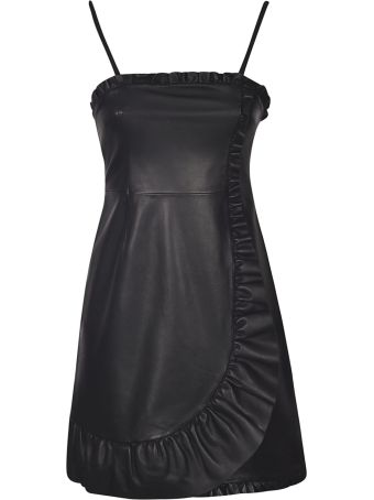 ALEXACHUNG Alexa Chung Ruffled Dress