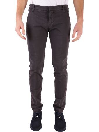 Entre Amis Cotton Blend Trousers