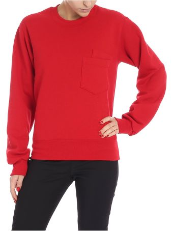 Cedric Charlier Patch Pocket Sweatshirt