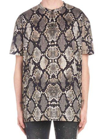 Les Hommes 'python' T-shirt