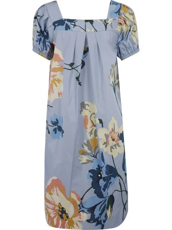 Antonio Marras Floral Print Mid-length Dress