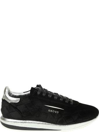 GHOUD Sneakers In Suede Clore Black