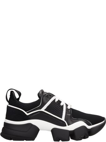 Givenchy Black Fabric Jaw Low Sneakers