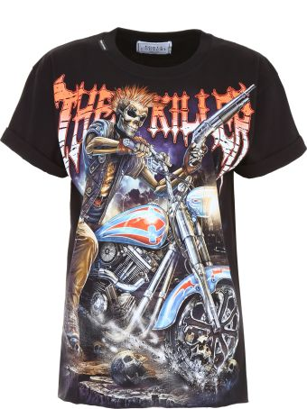 Forte Couture Skeleton Print T-shirt