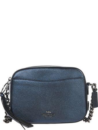 Coach  Leather Cross-body Messenger Shoulder Bag