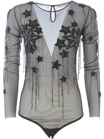 Amen Lace-detail Bodysuit