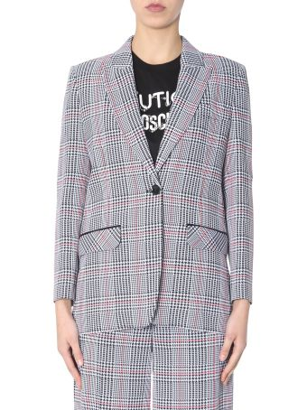 Boutique Moschino Jacket In The Prince Of Galles