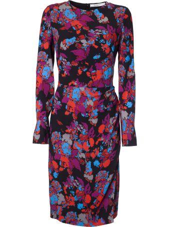 Givenchy Printed Mid-length Dress