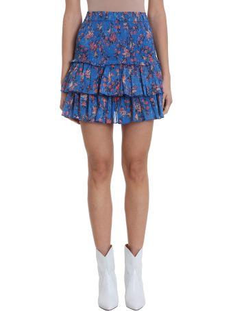 Isabel Marant Étoile Naomi Blue Cotton Skirt
