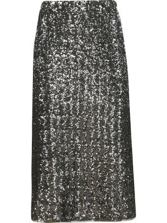Gianluca Capannolo Sequined Skirt
