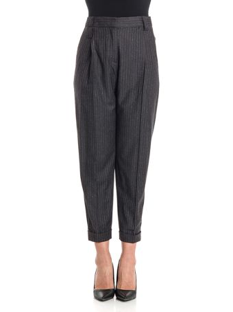 NEWYORKINDUSTRIE Cotton Trousers