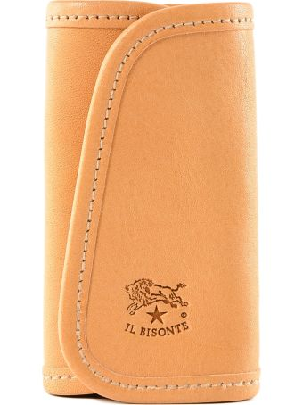 Il Bisonte Logo Key Case