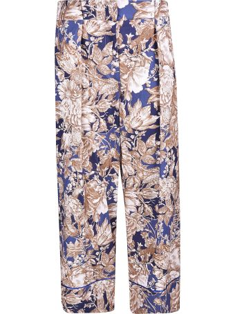Weekend Max Mara Floral Print Trousers
