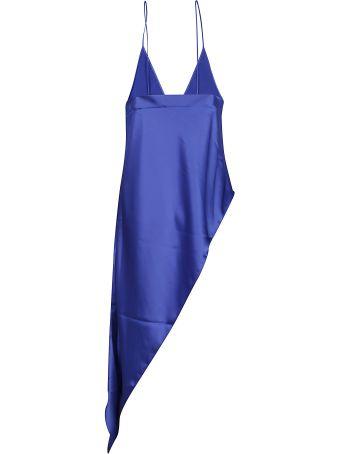 SSHEENA Eletric Blue Asymmetric Top