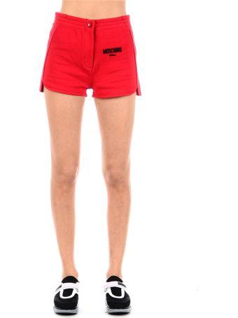 Moschino Shorts With Logo