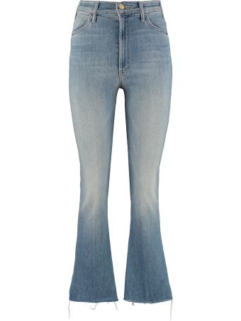 Mother The Ustler Ankle Fray Jeans