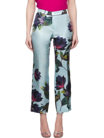 For Restless Sleepers Floral Cropped Trousers