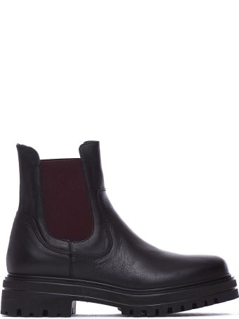 Janet & Janet Molly Black Ankle Boots