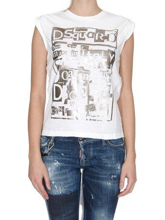 Dsquared2 Open Back T-shirt
