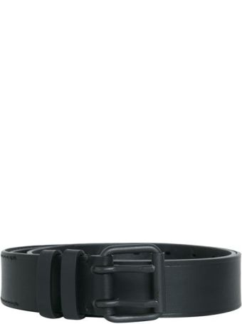 Haider Ackermann Black Leather Belt