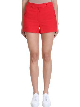 Calvin Klein Jeans Red Cotton Shorts