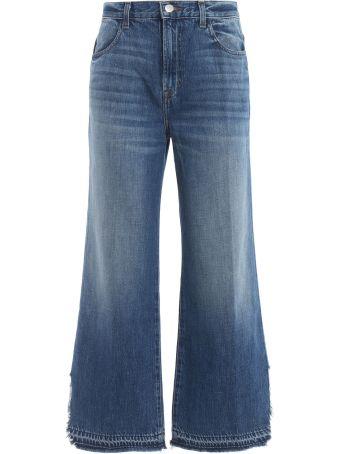 J Brand Wide Leg Jeans