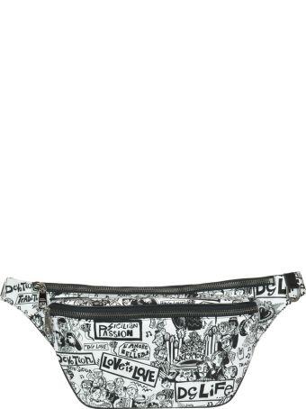 Dolce & Gabbana Street Print Belt Bag