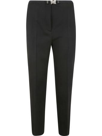 Prada Belt Snap Lock Trousers