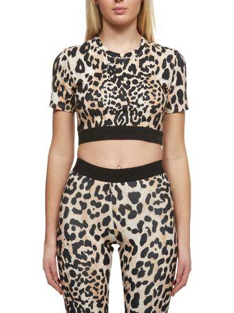 Paco Rabanne Leopard Print Top