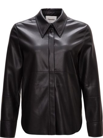 Nanushka Vegan Leather Shirt