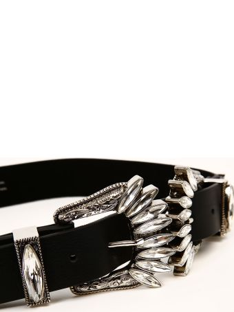 B-Low the Belt Belt With Crystal Buckle