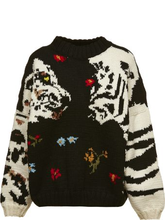 Sonia by Sonia Rykiel Embroidered Sweater