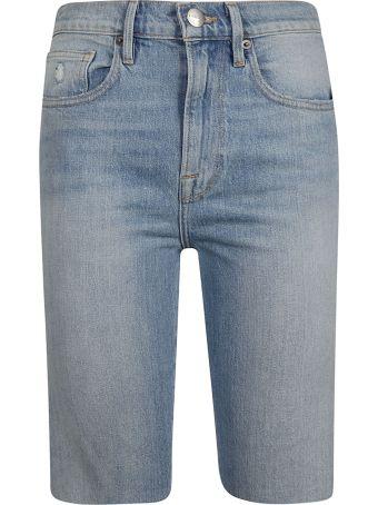 Frame Knee-length Denim Shorts