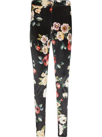 ATTICO Floral Print Trousers