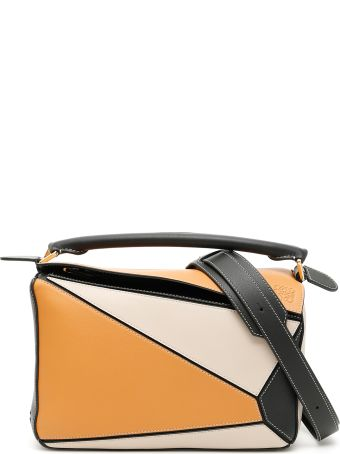 Loewe Multicolor Calfskin Puzzle Bag