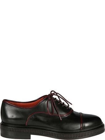 Santoni Leather Edged Oxford Shoes