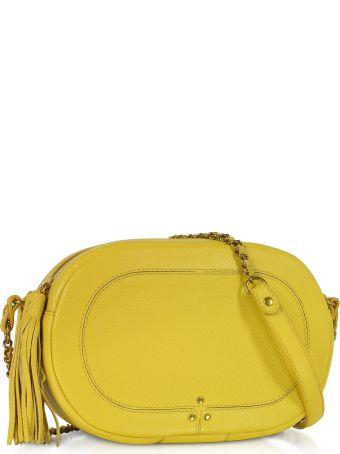 Jerome Dreyfuss Marc Mimosa Leather Crossbody Bag