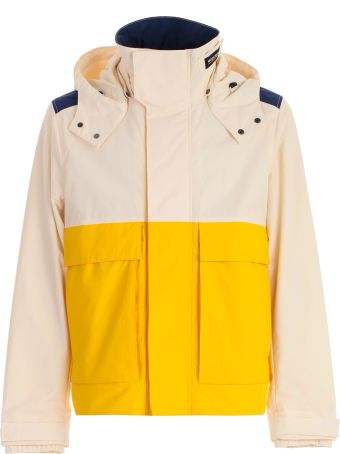 Woolrich Color Block Hooded Jacket