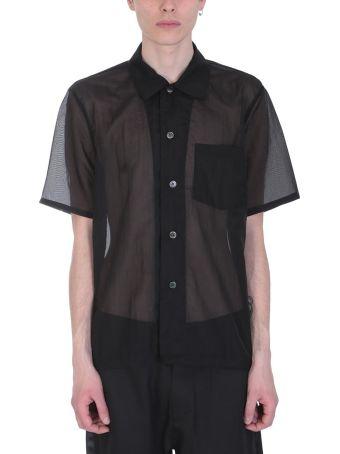 Our Legacy Box Black Nylon Shirt