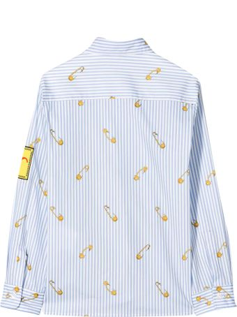 Young Versace Graphic Print Shirt
