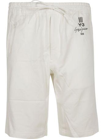 Y-3 Adidas Y-3 Signature Print Shorts