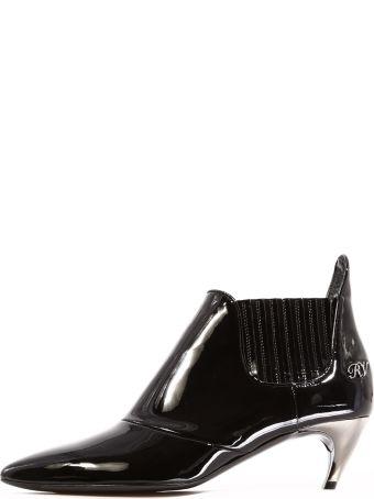 Roger Vivier Ankle Boot Black Patent