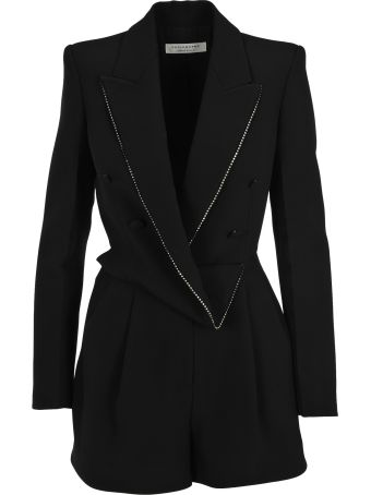 Philosophy di Lorenzo Serafini Philosophy Draped Blazer Playsuit