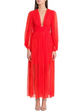 Maria Lucia Hohan Astoria Deep Midi Dress