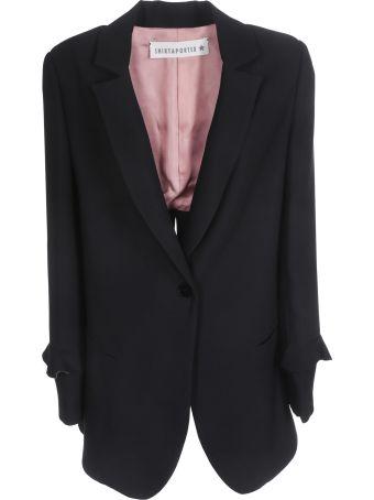 Shirt a Porter Ruffled Detail Blazer