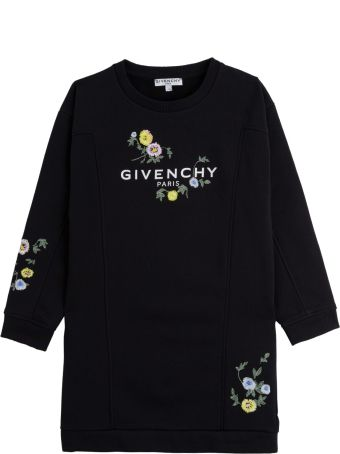 Givenchy Floral Embroidery Dress