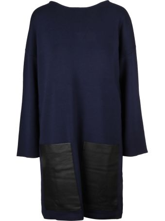PierAntonioGaspari Pier Antonio Gaspari Patch Pocket Dress