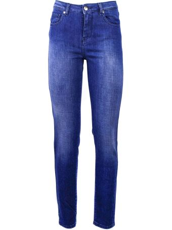 Fay Blue Cotton  Jeans